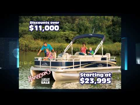 HMRV 1444 Harrison's Marine & RV January mall boats