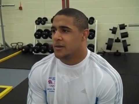 Great Britain  Leon Rattigan Team GB  Freestyle Wrestling London 2012 Olympics