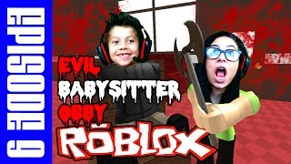 ROBLOX EVIL BABYSITTER OBBY - EPISODE 9 - BEST ROBLOX OBBY?