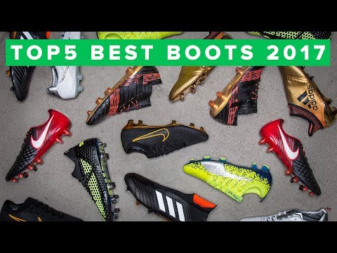 Top 5 Football Boots Of The Year 2017