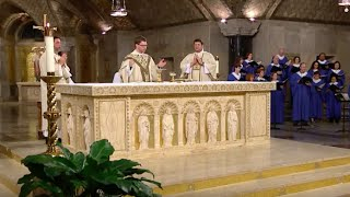 The Sunday Mass - 5th Sunday of Easter - April 24, 2016