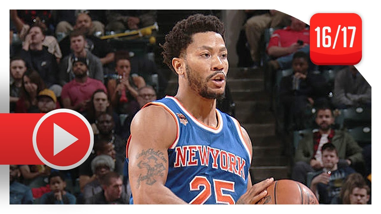 6a6582dd3cd3 Derrick Rose Full Highlights vs Pacers (2017.01.23) - 20 Pts