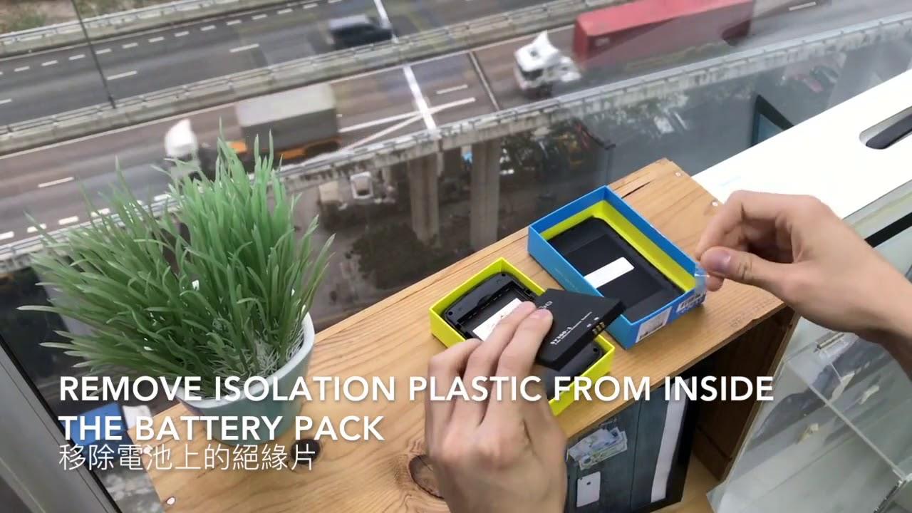 First time user how to open SmartGo Pokefi Pocket Wifi