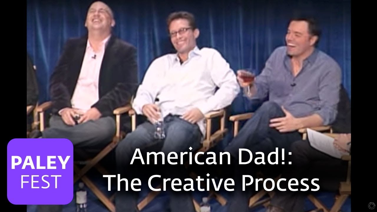 American Dad! - Recording the Voices and the Creative Process