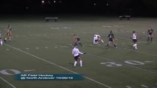 Acton Boxborough Field Hockey at North Andover 10/26/16