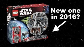 New LEGO Star Wars Death Star coming in 2016!