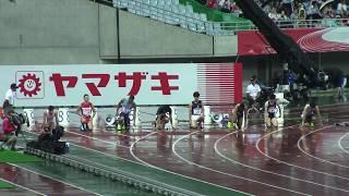 """2017 日本選手権陸上 男子100m 決勝 サニブラウン 10""""05"""