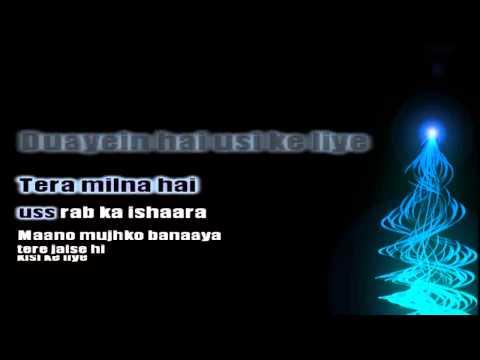 Raabta (lyrics) - Shreya Ghoshal's nice hindi melody