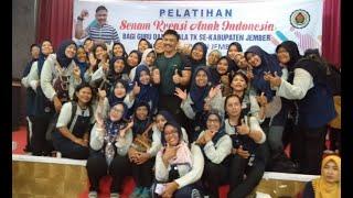 Senam Kreasi Anak Indonesia 2020 latihan bersama Kak Rudi Poco-Poco