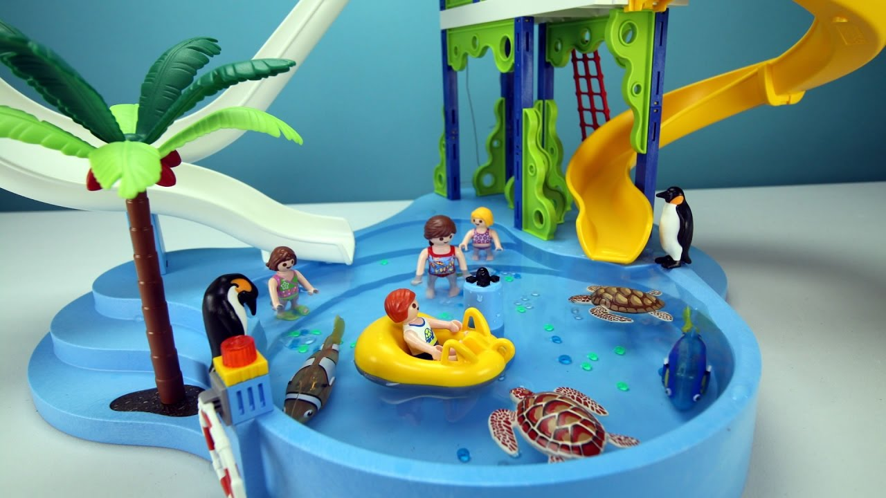 Sea Animals In A Playmobil Building Playset   Build, Play, And Review