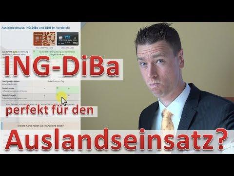 ING DiBa perfekt für den Auslandseinsatz??