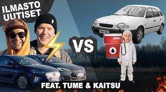 Sähköauto vs bensa - Ilmastouutiset #16 (feat. Tume & Kaitsu)
