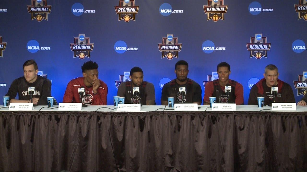 Men's Basketball NCAA Elite 8 News Conference — 3/25/17 ...