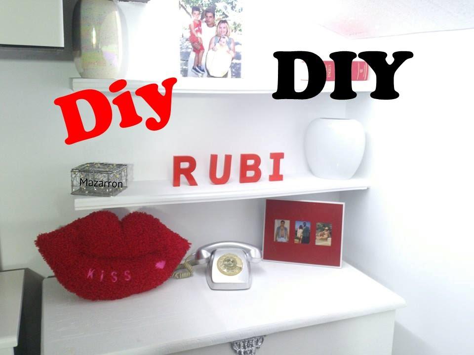 Diy decora tu cuarto con letras youtube for Como hacer cosas para tu cuarto