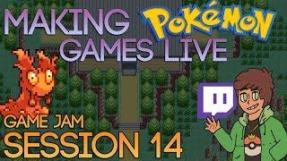 Making Pokemon Games Live (Game Jam Session 14)