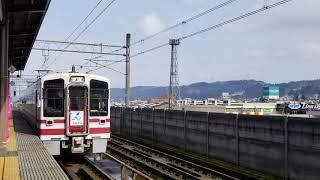 北越急行HK100形(リニューアル車) HK100-8形 十日町→(快速)→直江津