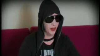 Marilyn Manson Talks About :- Golden Age Of Grotesque 2009