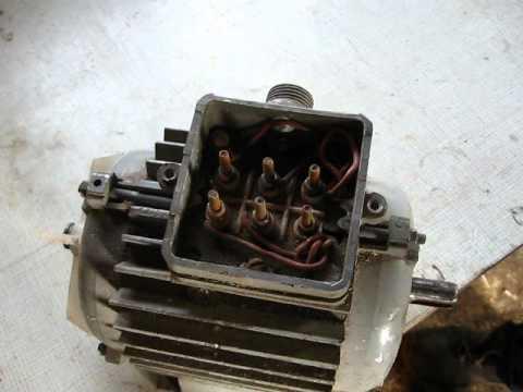 Как прозвонить 3х фазный двигатель на 380