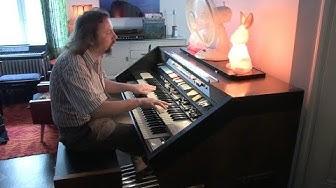 """""""Latin Kesä"""" (Lapin Kesä) on the Hammond Concorde"""