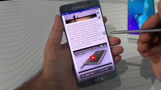 Galaxy Note 5: Scroll Capture (Extended Screen Capture)