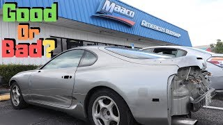 Took My Supra To Maaco For A Paint Job Good Or Bad ??