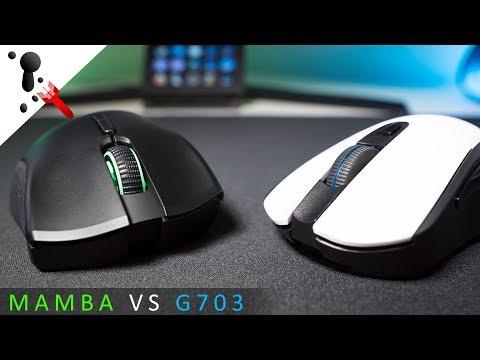 Which Would I Buy? Razer Mamba Wireless or Logitech G703