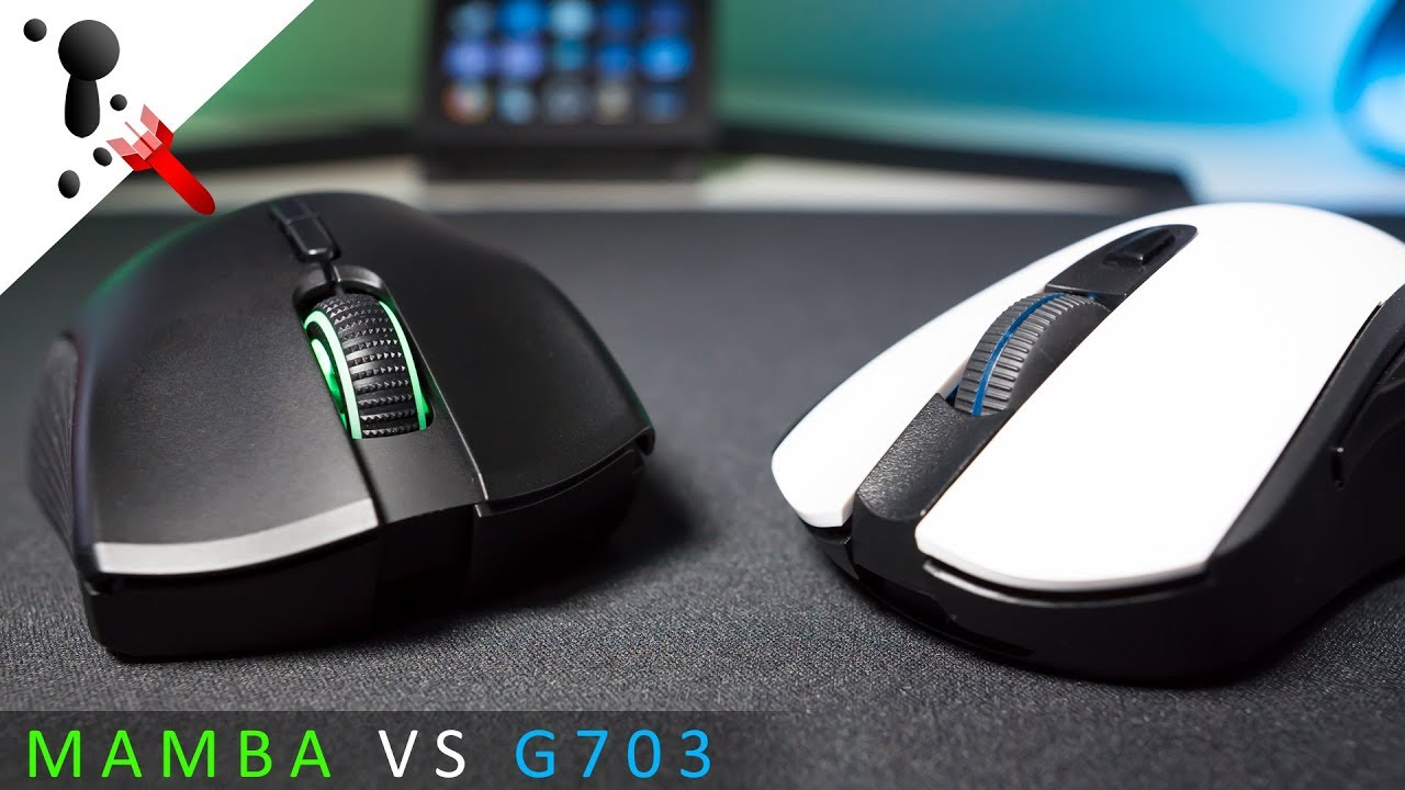 Which Would I Buy? Razer Mamba Wireless or Logitech G703