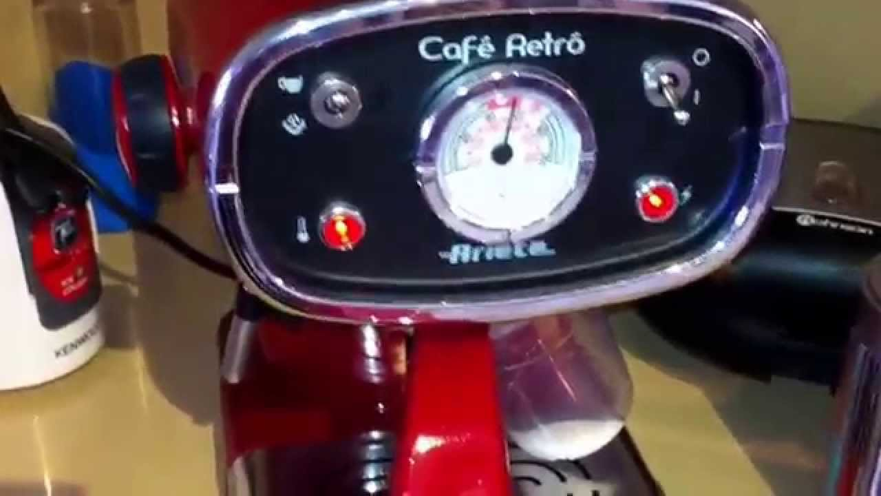 Cafe retro by Ariete. Amazing machine... - YouTube