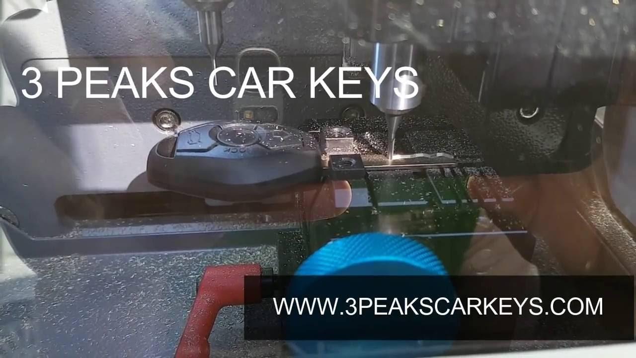 Peaks Car Keys