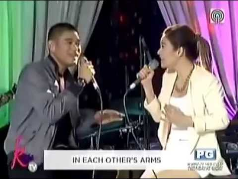 """Kyla, Jay R sing """"Almost Is Never Enough"""" on Kris TV"""