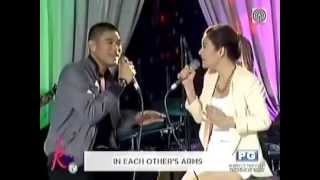 "Kyla, Jay R sing ""Almost Is Never Enough"" on Kris TV"