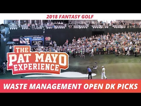 2018 Fantasy Golf Picks - Waste Management Open DraftKings Picks, Sleepers and Preview