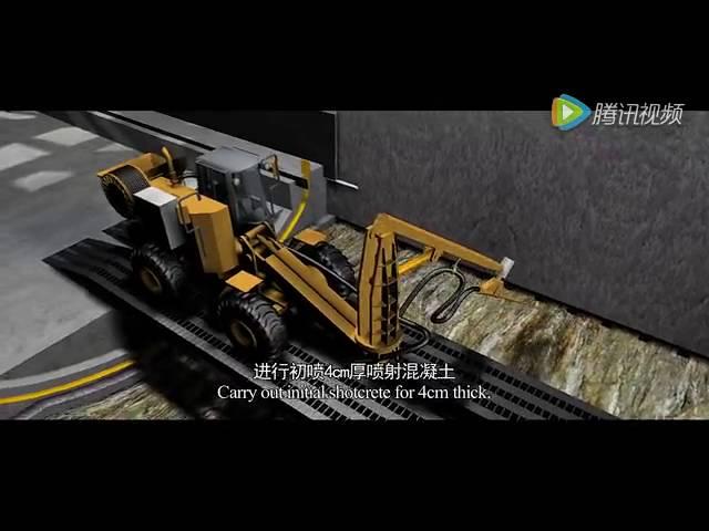 Construction of Ngong Hills Tunnel at Kenya Nairobi-Naivasha SGR