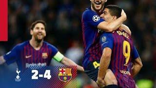 Download Video ملخص مباراة برشلونة وتوتنهام ويست  HD 2:4   شاشة كاملة المباراة التي تألق فيها كل لاعبي فريق برشلونة MP3 3GP MP4