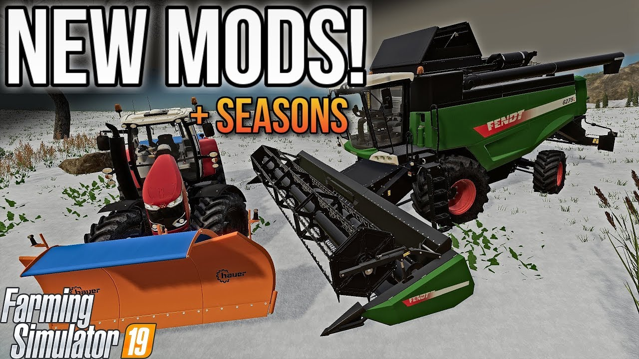 SEASONS 19 IS OUT NOW! | All New Mods For Farming Simulator