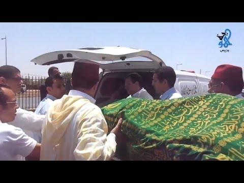 صلاة الجنازة على محسن فكري امزورن مسجد إمام مالك