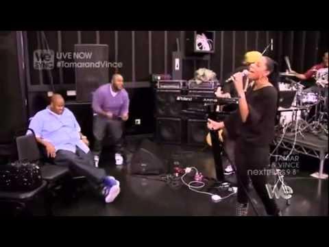 Tamar Braxton - Love & War (Snippet) [Acoustic Version] (Showcase Rehearsal)
