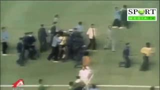 خناقة لاعبي منتخب مصر وليبيا في دورة الالعاب الافريقية بالجزائر 1978 وانسحاب بعثة مصر من الدورة