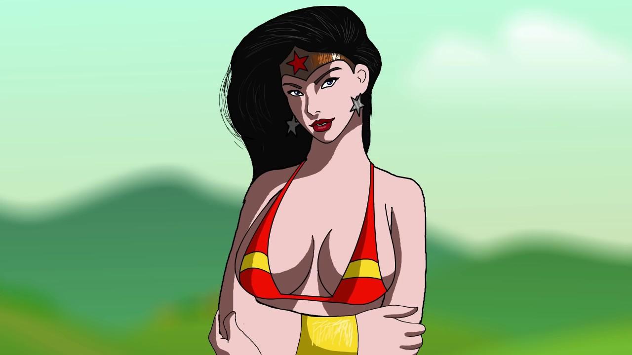 Wonder Woman Boob Twerking - Youtube-6919