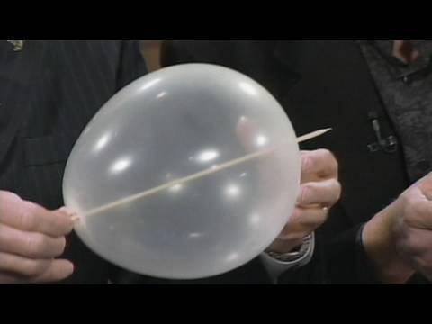 Skewer Through Balloon - Cool Science Experiment