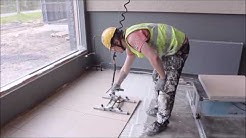 ATILER FL600 installing 600 x 600mm Tiles