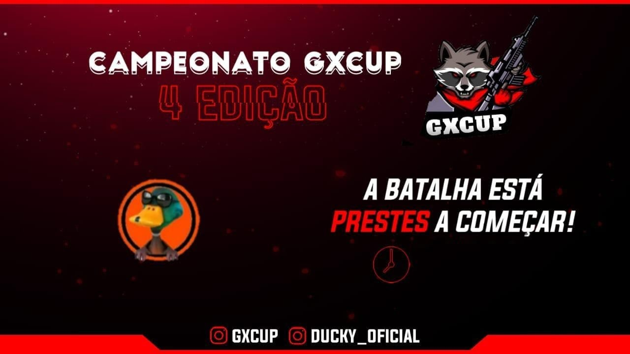 🔥 FREE FIRE - AO VIVO🔥4° CAMPEONATO DUO GXCUP🔥LIVE ON🔥#3k
