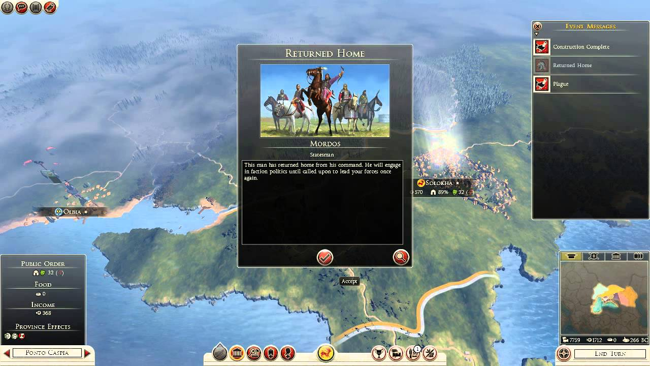 Rome II Total War Campaign with Royal Scythia Episode #1 ...