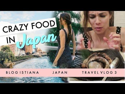 EATING TUNA EYEBALLS IN JAPAN // TRAVEL VLOG