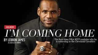 LeBron James The Legacy I m Coming Home Movie 勒布朗·詹姆斯的遺產我要回家電影