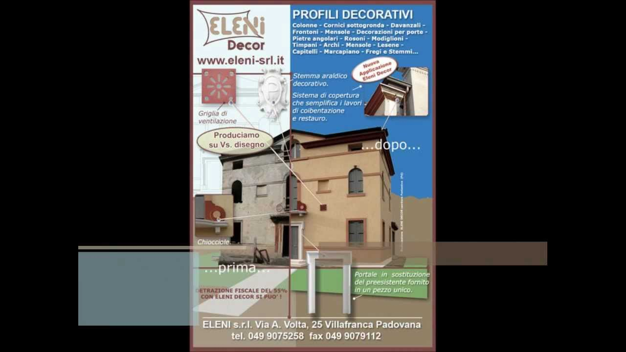 Cornici in polistirolo per finestre youtube for Cornici decorative polistirolo