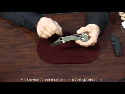 SHOT Show 2014 - Spyderco New Knives
