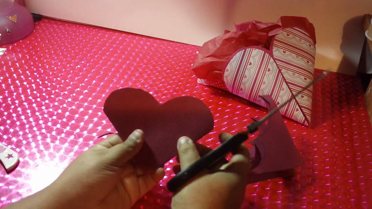 Dulcero corazon scrapbook para regalar en san valentin doovi - Album para san valentin ...