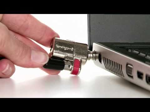 In depth tutorial to show installation and the use of the Kensington ClickSafe Keyed Laptop Lock.