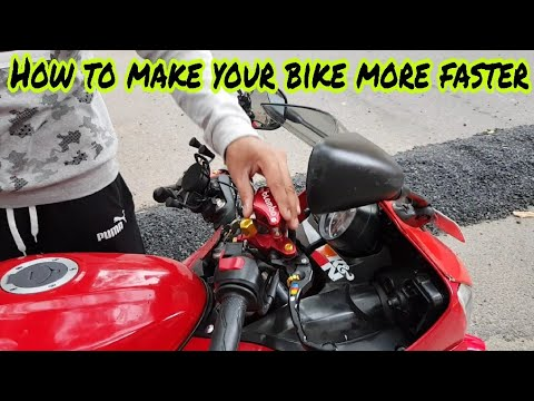 How to make your bike Run more Faster   Tips to gain Speed on your bike